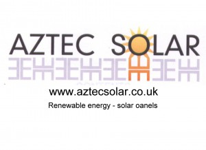 Aztec logo and web ad